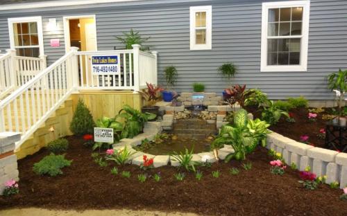 Modular Home front