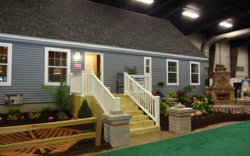 Modular Home show room