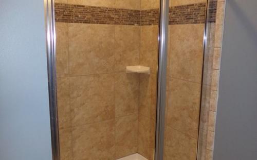 modular home shower