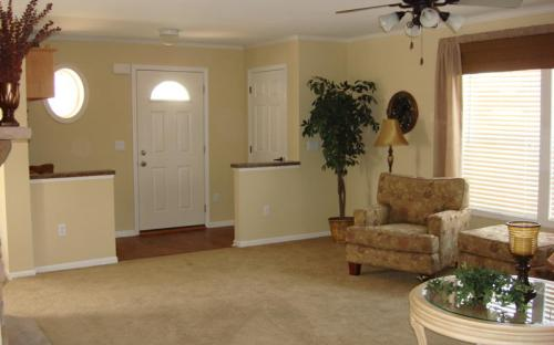 modular home indoors